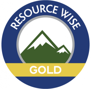 Resource Wise Gold certified